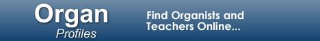 OrganProfiles.com - Find Organists and Organ Teachers Online